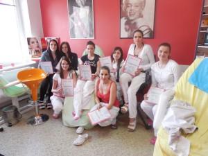 SOU Domažlice - kosmetické studio