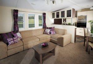 Inspiration obývací pokoj s kuchyní
